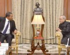 The President of the United Republic of Tanzania, Jakaya Kikwete calling on the President, Pranab Mukherjee,