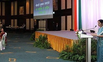'Look East' to 'Act East', Modi government means business : Sushma