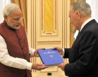 Modi gifts Nazarbayev books on religions born in India