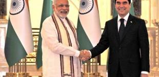 India, Turkmenistan have common purpose to combat terror: Modi