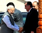 The Prime Minister, Narendra Modi being received by the President of Tajikistan, Emomali Rahmon,