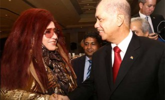 Shahnaz Husain,Newly appointed Cultural Ambassador of  Seychelles in India   with James A. Michel, President of the Republic of Seychelles