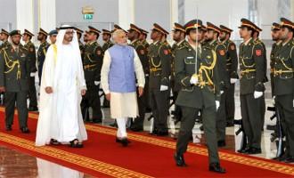 Modi in UAE: Talks investment, visits mosque, meets diaspora