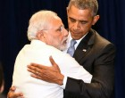 Prime Minister, Narendra Modi meeting the President of United States of America (USA), Barack Obama