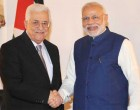 Prime Minister, Narendra Modi meeting the President of Palestine, Mahmoud Abbas
