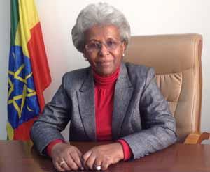Ethiopian Ambassador Gennet Zewide