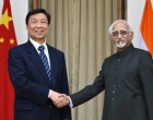 Vice President, Mohd. Hamid Ansari meeting the Vice President of the People's Republic of China, Li Yuanchao, in New Delhi