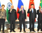 Prime Minister, Narendra Modi with other BRICS leaders at a meeting, on the sidelines of G20 Summit 2015, in Turkey.