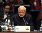 Prime Minister, Narendra Modi at the G20 Summit working session, in Turkey.