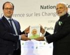 Modi launches solar alliance, reminds rich countries of 'green' promises