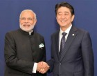 Prime Minister, Narendra Modi meeting the Prime Minister of Japan, Shinzo Abe, on the sidelines of COP21 Summit, in Paris, France.