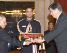 Ambassador-designate of Portugal, Joao Do Carmo Ataide Da Camara presenting his credential to the President, Pranab Mukherjee