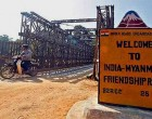 Myanmar not setting up trading zone at India border