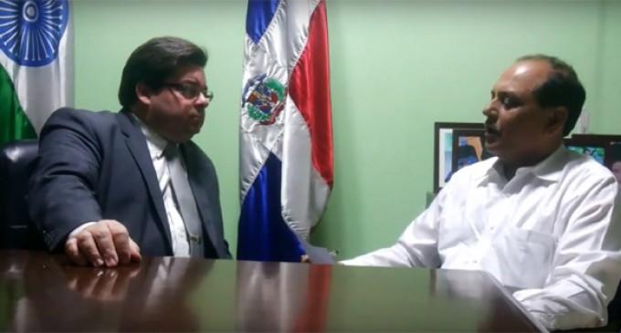INTERVIEW with Ambassador of Dominican Republic,  H.E. Mr. Frank Hans Dannenberg Castellanos