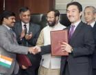 MoS for Environment, Forest and Climate Change (IC), Prakash Javadekar and the Ambassador of Japan to India, Kenji Hiramatsu