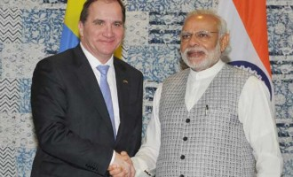 Sweden and India are partners in many fields: Swedish Prime Minister