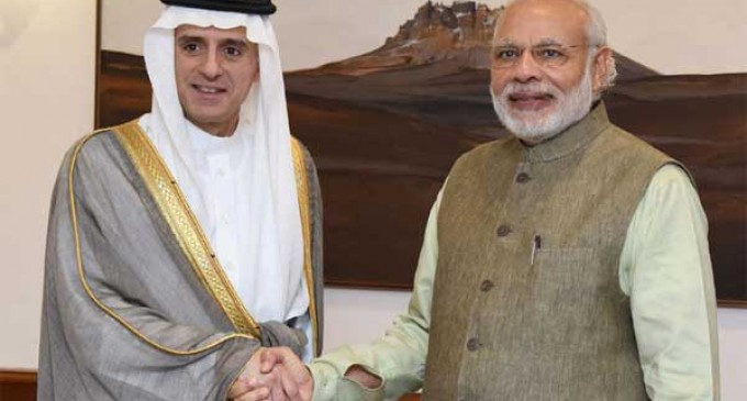 Saudi foreign minister arrives in India