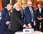 Prime Minister, Narendra Modi and the Prime Minister of Belgium, Charles Michel, during the Remote Technical Activation