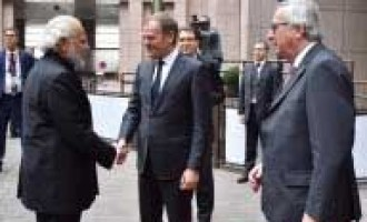 Modi meets European Council, European Commission presidents
