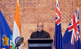 President Mukherjee invites New Zealand to join 'Make in India' initiative