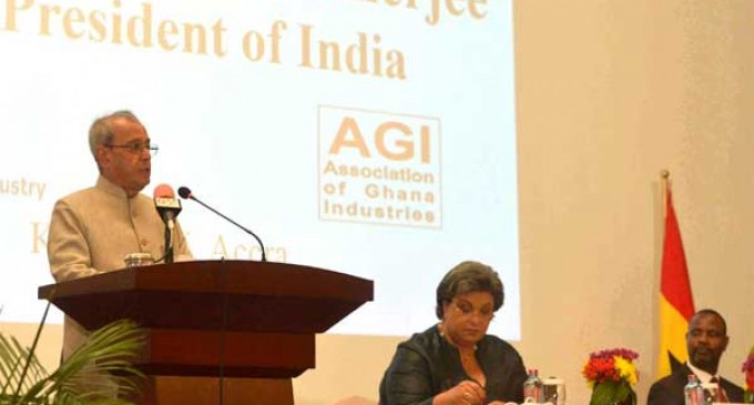 India to provide Ghana with more lines of credit: Mukherjee