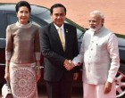 Prime Minister, Narendra Modi with the Prime Minister of the Kingdom of Thailand, General Prayut Chan-o-cha,