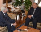 French Middle East Peace Envoy in Egypt for Talks