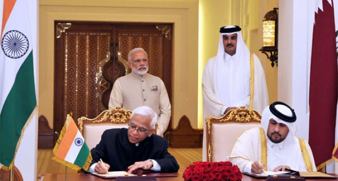 India, Qatar sign 7 agreements