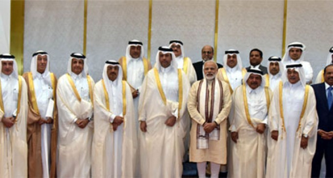 PM Modi meets business leaders in Qatar, invites them to India