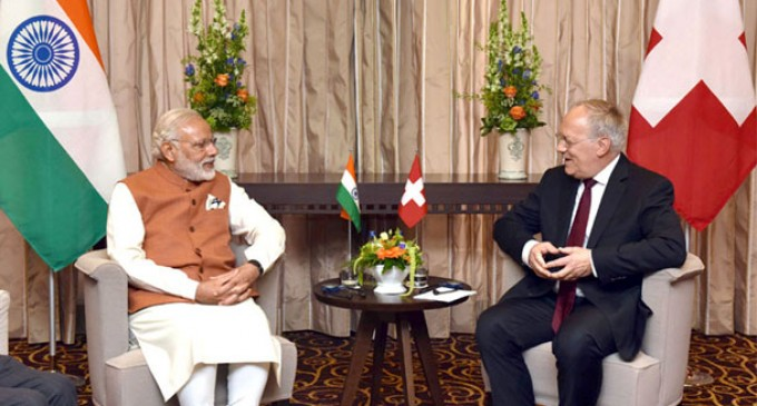 PM Modi thanks Switzerland for supporting India's NSG membership