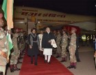 Modi arrives in South Africa