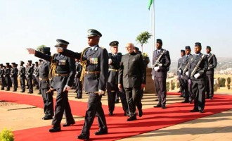 Modi, Zuma hold talks after ceremonial welcome in Pretoria