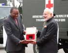 India gifts 30 field ambulances to Kenya