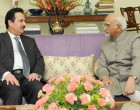 Ambassador of the State of Qatar to India, Ahmed Ibrahim Abdulla Al Abdulla calling on the Vice President,
