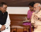 Home Minister of Bangladesh, Asaduzzaman Khan calls on the Prime Minister, Narendra Modi,
