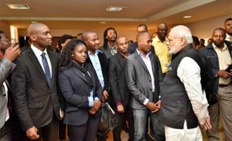 PM Modi visits innovation centre in Mozambique
