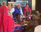 PM Modi interacts with African 'Solar Mamas'