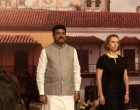 Minister of State for Petroleum & Natural Gas, Shri Dharmendra Pradhan at the National Day of Colombia with H.E. with Ambassador of Colombia in India H.E. Mrs. Monica Lanzetta Mutis