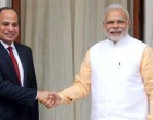 Modi meets Egyptian President