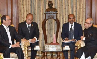 India Sees Egypt as a Bridge Between Asia and Africa,Says President