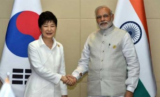 Modi meets South Korean President