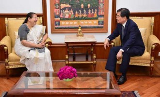 Ambassador of Republic of Korea  Cho Hyun  calls on Lok Sabha Speaker Sumitra Mahajan