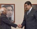 Ansari calls on Venezuelan President