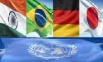 UNSC reform efforts need to be intensified: G4