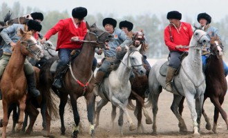 Kok Boru was the highlight of the 2nd edition of World Nomad Games, Issy-kul, Kyrgyzstan