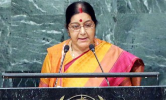 Aiming at Pakistan, Swaraj tells UN world must isolate nations exporting terror