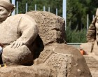 Festival of Sand Sculptures in Issyk-Kul on the eve of the World Nomad Games 2016