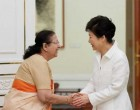 Lok Sabha Speaker Sumitra Mahajan calls on President of South Korea