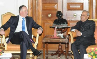 Prime Minister of New Zealand Calls on President