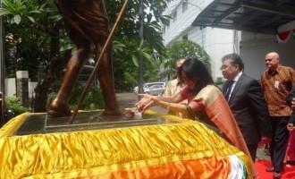 Indian embassy in Jakarta celebrates Gandhi Jayanti